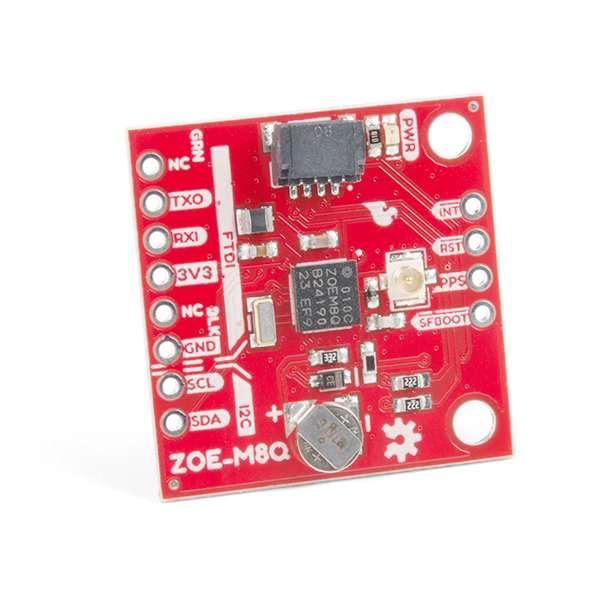 Breakout GPS SparkFun ZOE-M8Q (Qwiic) 0