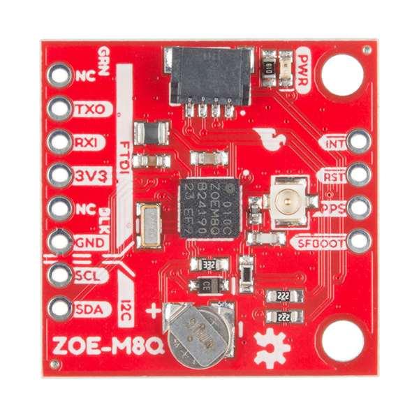 Breakout GPS SparkFun ZOE-M8Q (Qwiic) 1