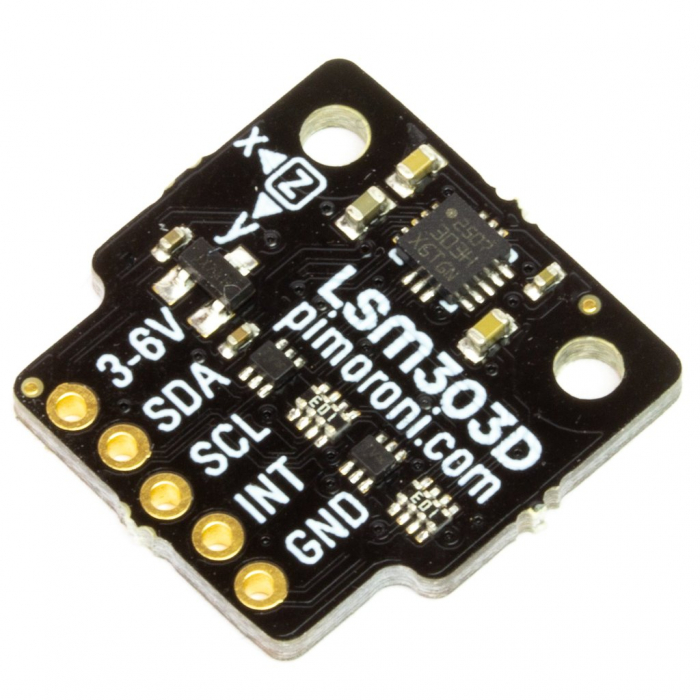 Breakout Pimoroni senzor de miscare LSM303D 6DoF [0]