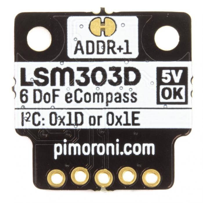 Breakout Pimoroni senzor de miscare LSM303D 6DoF [2]
