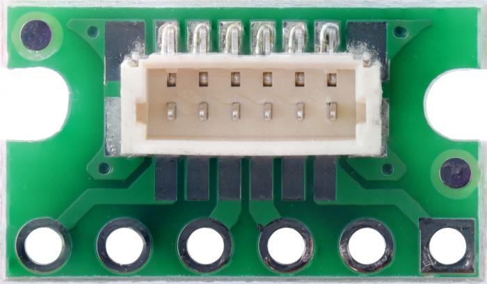 Breakout Pololu conector JST SH, intrare superioara tata cu 6 pini 2