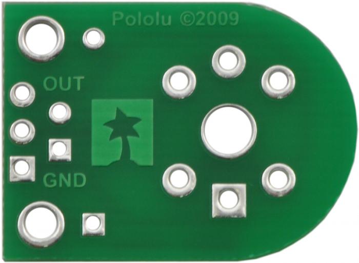 Breakout Pololu pentru senzorii de gaz MQ (doar placa PCB) 0