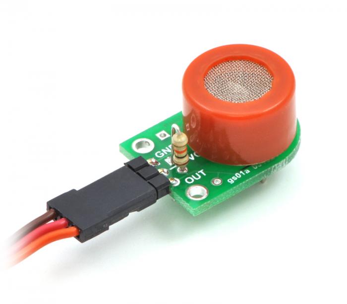 Breakout Pololu pentru senzorii de gaz MQ (doar placa PCB) 4