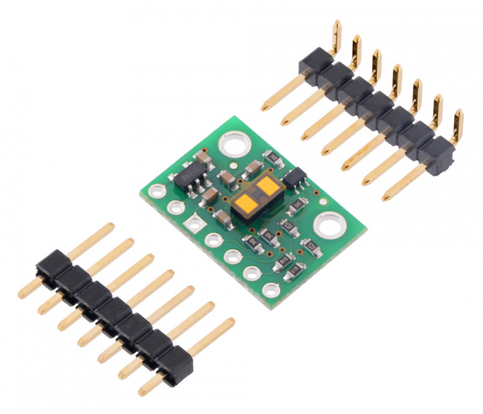 Breakout senzor de distanta Pololu VL53L1X ToF cu stabilizator [1]