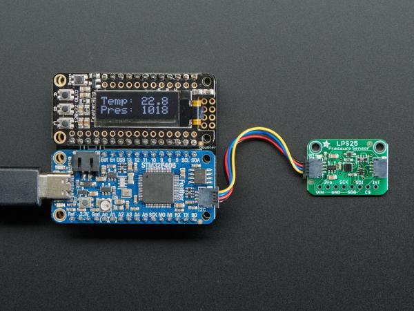 Breakout senzor presiune Adafruit LPS25 4