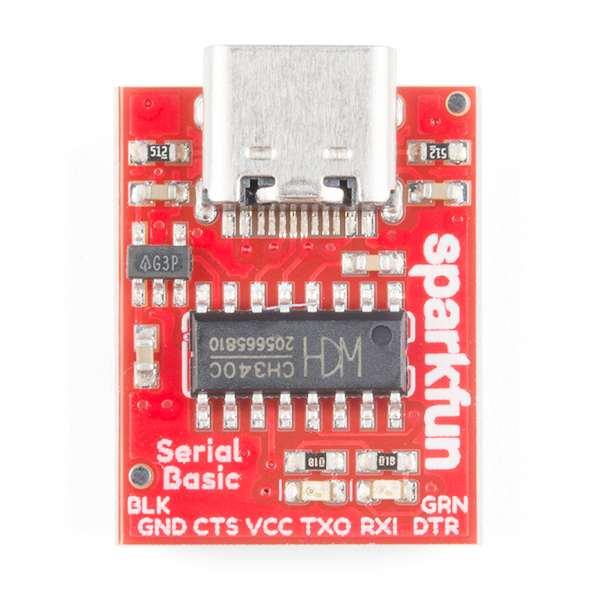 Breakout serial SparkFun cu CH340C si USB-C 1