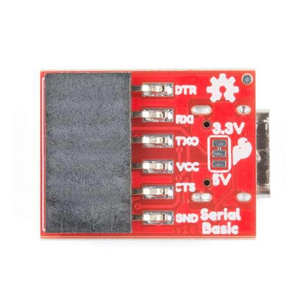 Breakout serial SparkFun cu CH340C si USB-C 2