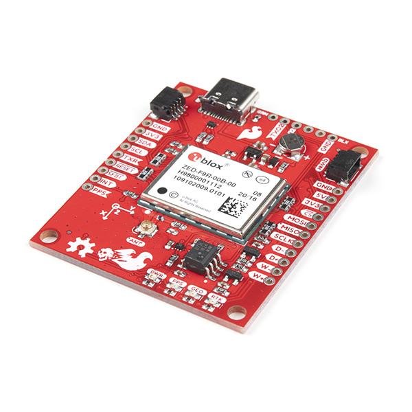 Breakout SparkFun calcul mort GPS-RTK ZED-F9R (Qwiic) [0]