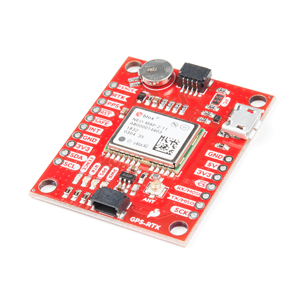 Breakout SparkFun GPS-RTK NEO-M8P-2 (Qwiic) [0]