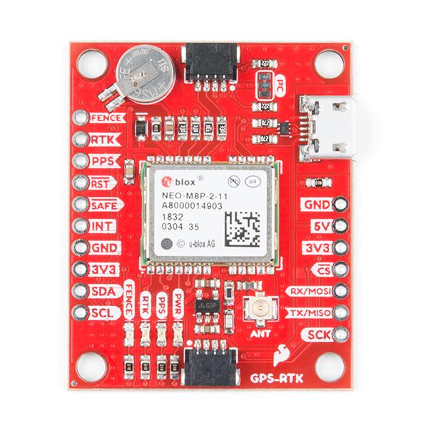 Breakout SparkFun GPS-RTK NEO-M8P-2 (Qwiic) [3]