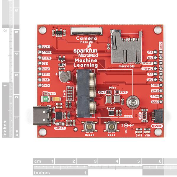 Breakout SparkFun MicroMod invatare-masina 1