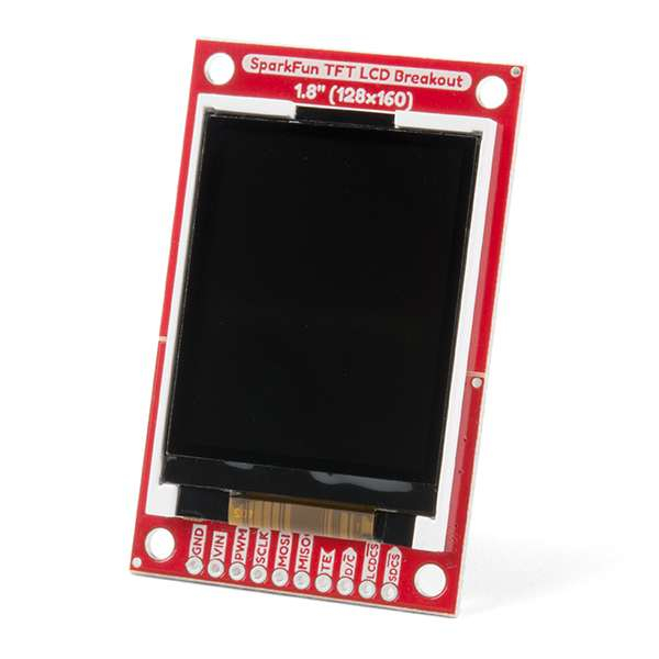 "Breakout TFT LCD 1.8"" SparkFun [0]"