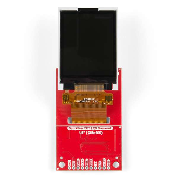 "Breakout TFT LCD 1.8"" SparkFun 3"