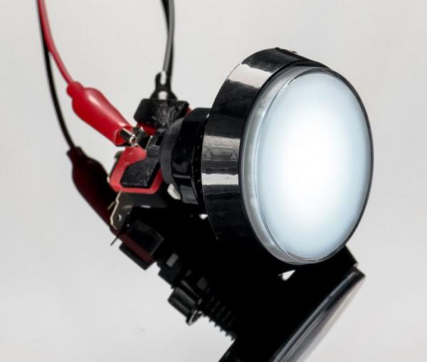 Buton Arcade cu LED alb - 60mm [1]