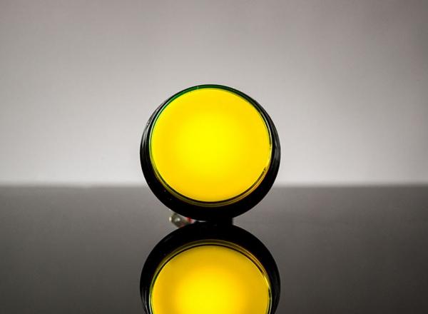 Buton Arcade cu LED galben - 60mm 0