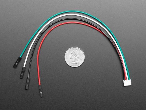 Cablu JST PH 4 pini - 200mm [1]