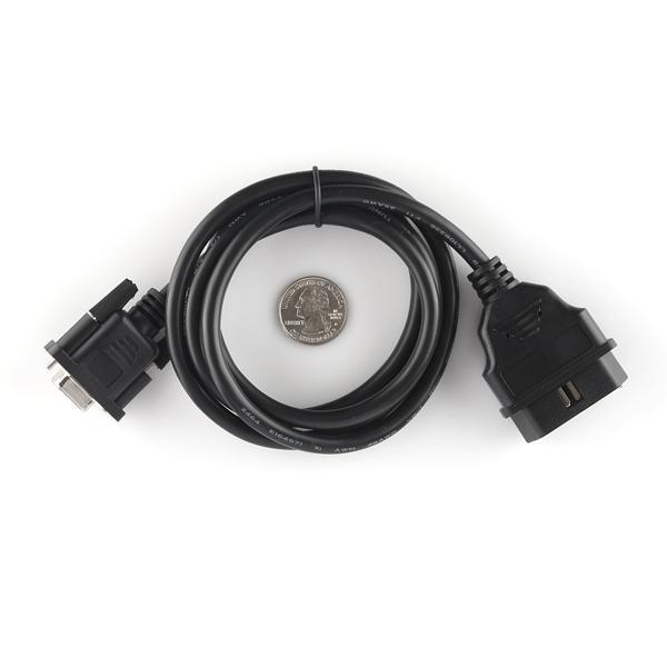 Cablu OBD-II DB9 3