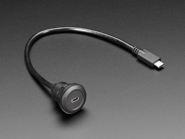 Cablu prelungitor USB C - 30cm 3