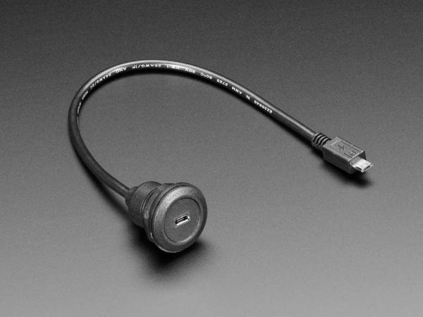 Cablu prelungitor USB micro B - 30cm [3]
