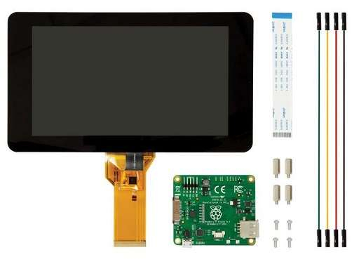 Display 7'' Raspberry Pi - Touch Screen Capacitive Touch 0