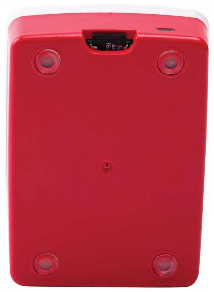 Carcasa oficiala Raspberry Pi 4 Model B - rosu/alb 2