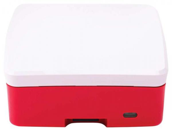 Carcasa oficiala Raspberry Pi 4 Model B - rosu/alb 4