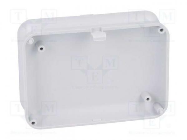 Carcasa universala din plastic Teko Soap 10007.5 - Gri deschis 3