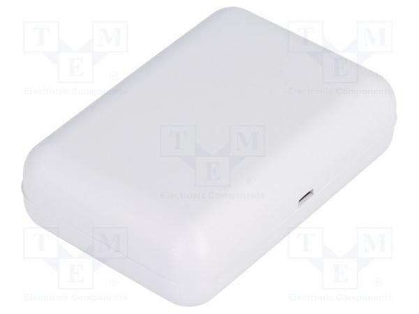 Carcasa universala din plastic Teko Soap 10007.5 - Gri deschis 0