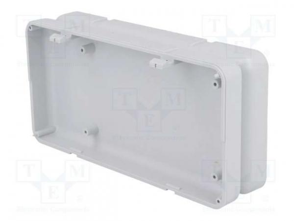 Carcasa universala din plastic Teko Soap 10008.5 - Gri deschis 2