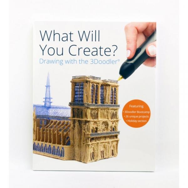 Carte proiecte, modele si instructiuni pentru creion 3D 3Doodler 0