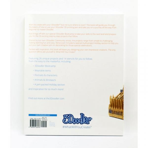 Carte proiecte, modele si instructiuni pentru creion 3D 3Doodler 1