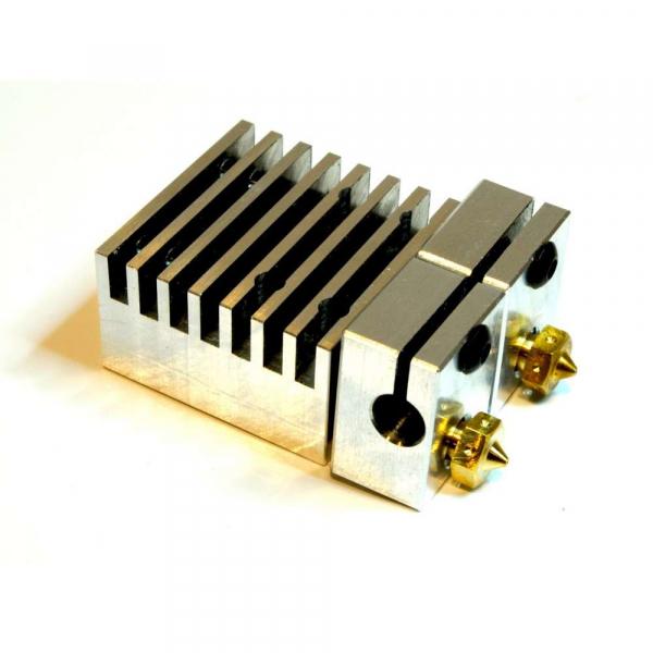 Kit extrudor Dual Chimera Plus cu Hot end si dubla extrudare, racire cu aer, 12V 1