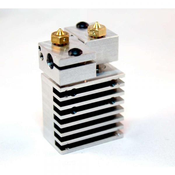 Kit extrudor Dual Chimera Plus cu Hot end si dubla extrudare, racire cu aer, 12V 2