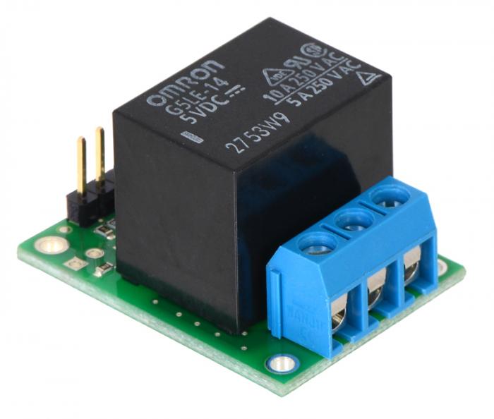 Comutator RC Pololu cu releu - asamblat 3