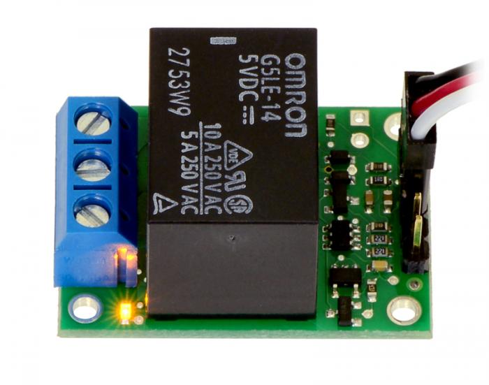 Comutator RC Pololu cu releu - asamblat 4