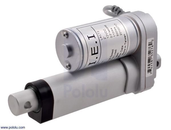 Actuator liniar LACT2-12V-20 fara feedback 5.08 cm Stroke, 12V, 1.27 cm/s 0