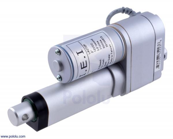 Actuator liniar LACT2P-12V-20 cu feedback 5.08cm Stroke, 12V, 1.27 cm/s 0