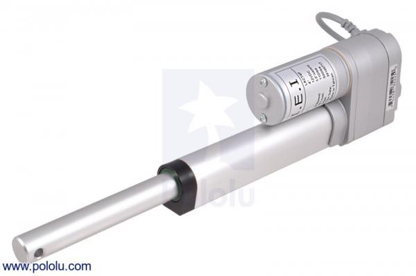 Actuator liniar cu LACT4P-12V-20 cu feedback  10.16cm Stroke, 12V, 1.27 cm/s 1