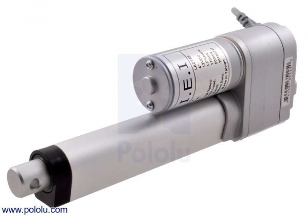 Actuator liniar LACT8P-12V-20 cu feedback 20.32 cm Stroke, 12V, 1.27 cm/s [0]