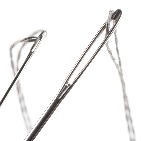 Bobina fir textil conductor - 9.14m (Stainless Steel) [2]