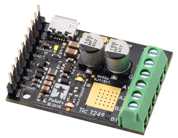 Driver motor stepper multi-interfata USB Tic T249 1