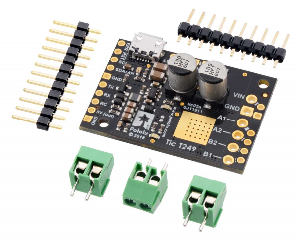 Driver motor stepper multi-interfata USB Tic T249 0