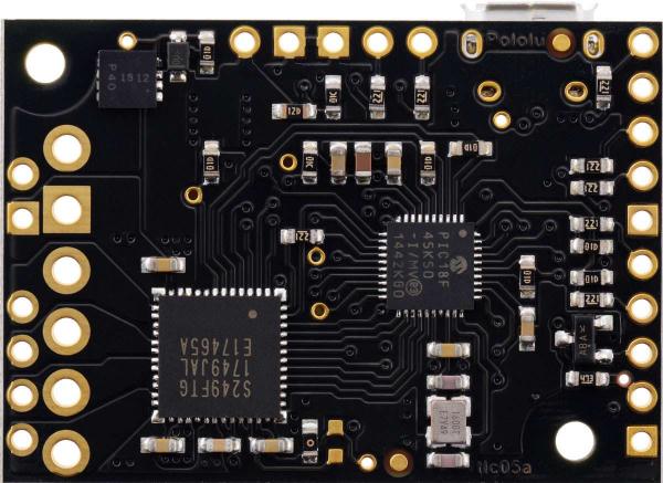 Driver motor stepper multi-interfata USB Tic T249 4