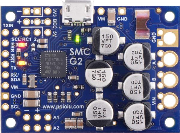 Driver simplu de motor Pololu G2 18v25 [0]