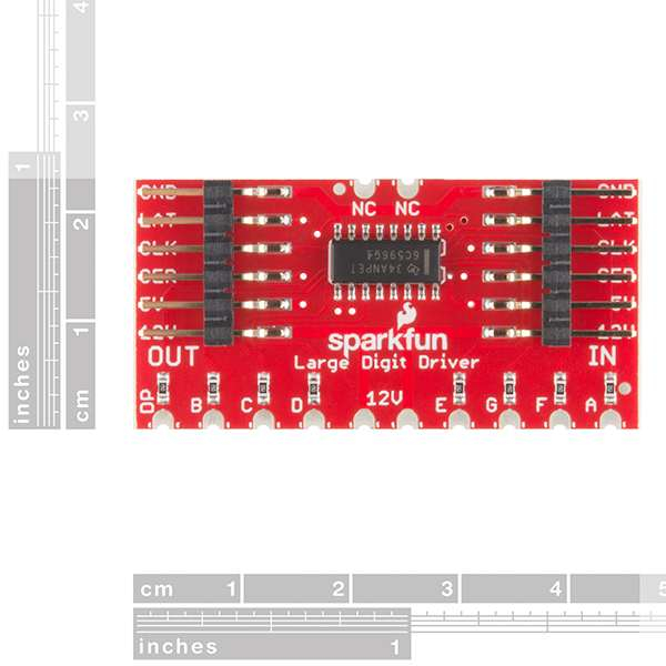 Controlor SparkFun Large Digit Driver [1]