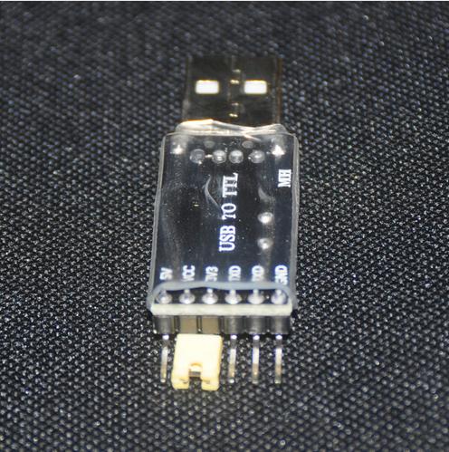 Convertor USB UART - TTL bazat pe CH340G 2