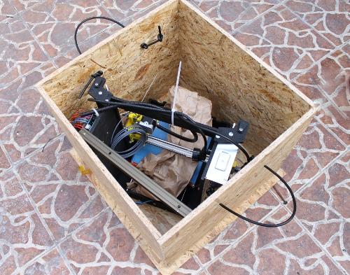 Imprimanta 3D Robofun 40-40-40, complet asamblata 3