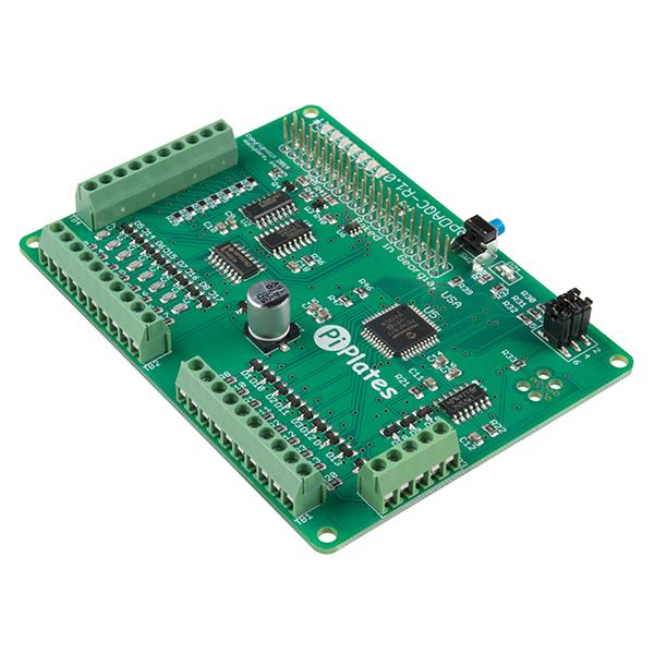 DAQCplate pentru Raspberry Pi 1