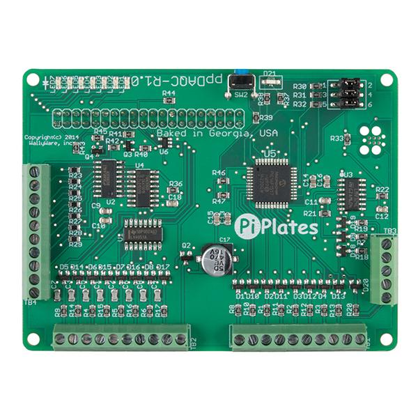 DAQCplate pentru Raspberry Pi 3