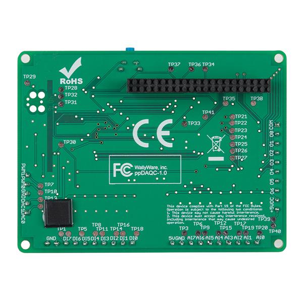 DAQCplate pentru Raspberry Pi 4